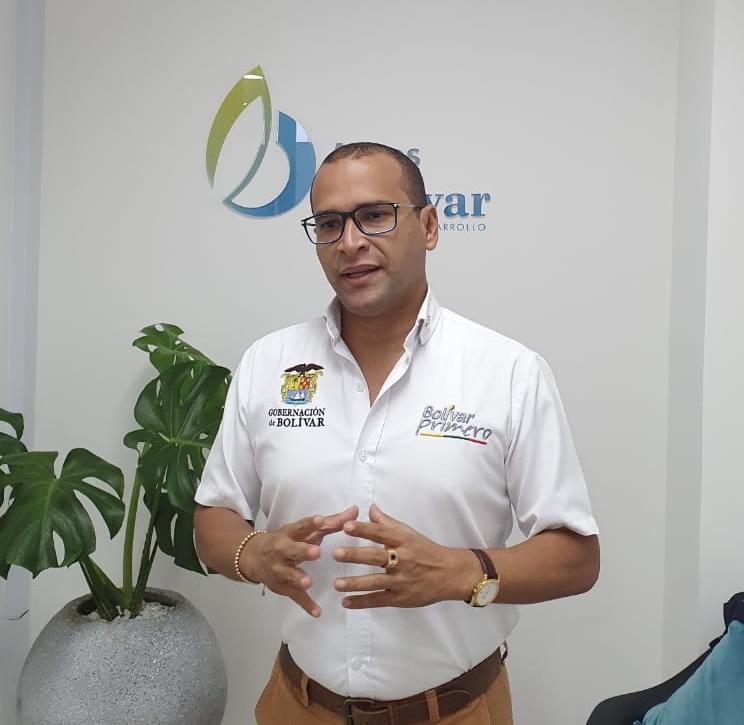 Arnaldo Barreto Lezama Gerente Aguas de Bolivar
