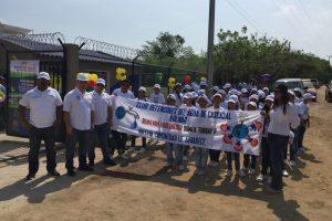 Aguas de Bolivar Club Defensores del agua Cascajal